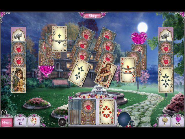 Screenshot  «Jewel Match Solitaire: L'Amour» № 1