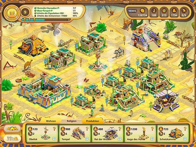 Screenshot  «Ramses: Aufstieg eines Imperiums. Sammleredition» № 6
