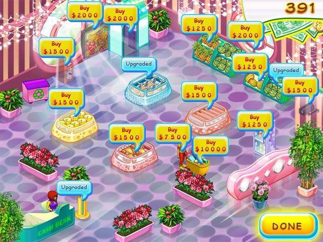Скриншоты к игре Supermarket Mania. Новые игры. Навигация по разделу.