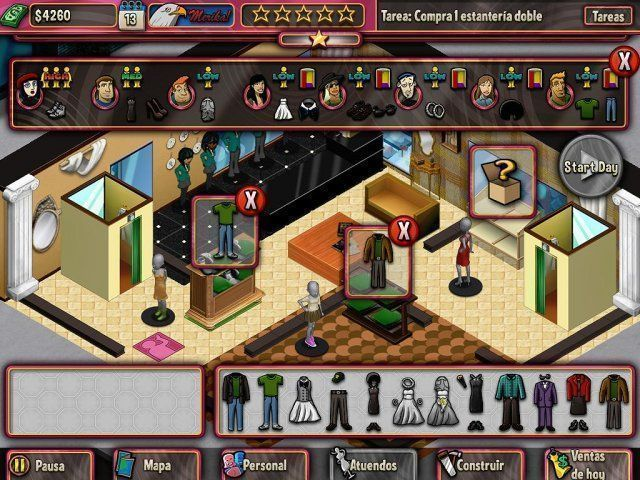 Boutique Boulevard en Español game