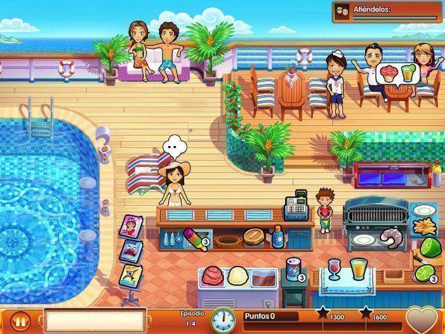 Delicious – Emily's Honeymoon Cruise en Español game