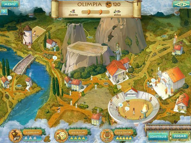 Heroes of Hellas 2: Olympia en Español game