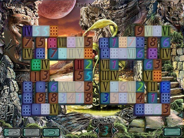 Space Mahjong game