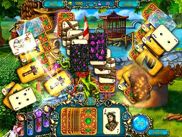 Dreamland Solitaire: Dragon's Fury gra