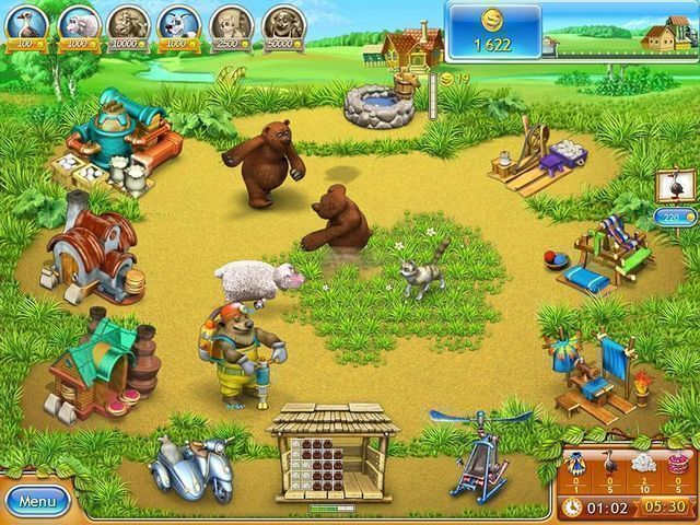 Free download Farm Frenzy 3: Russian Roulette screenshot.