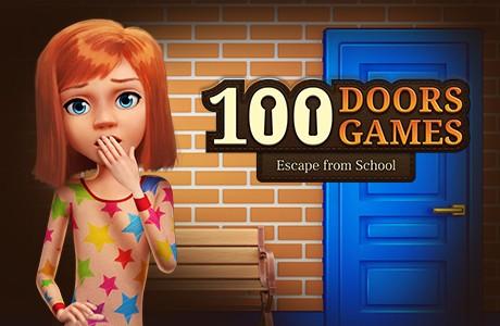 100 Doors Game: Escape from School